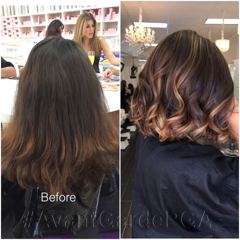 Before and After Hair Styles 001