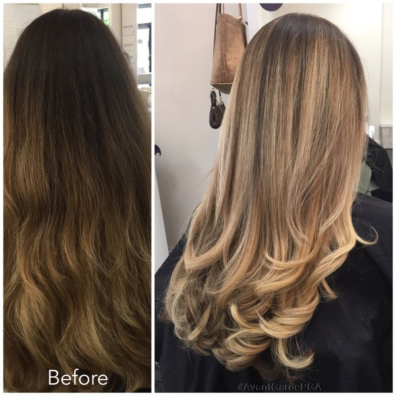 Before and After Hair Styles 007
