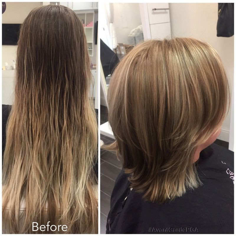 Before and After Hair Styles 008