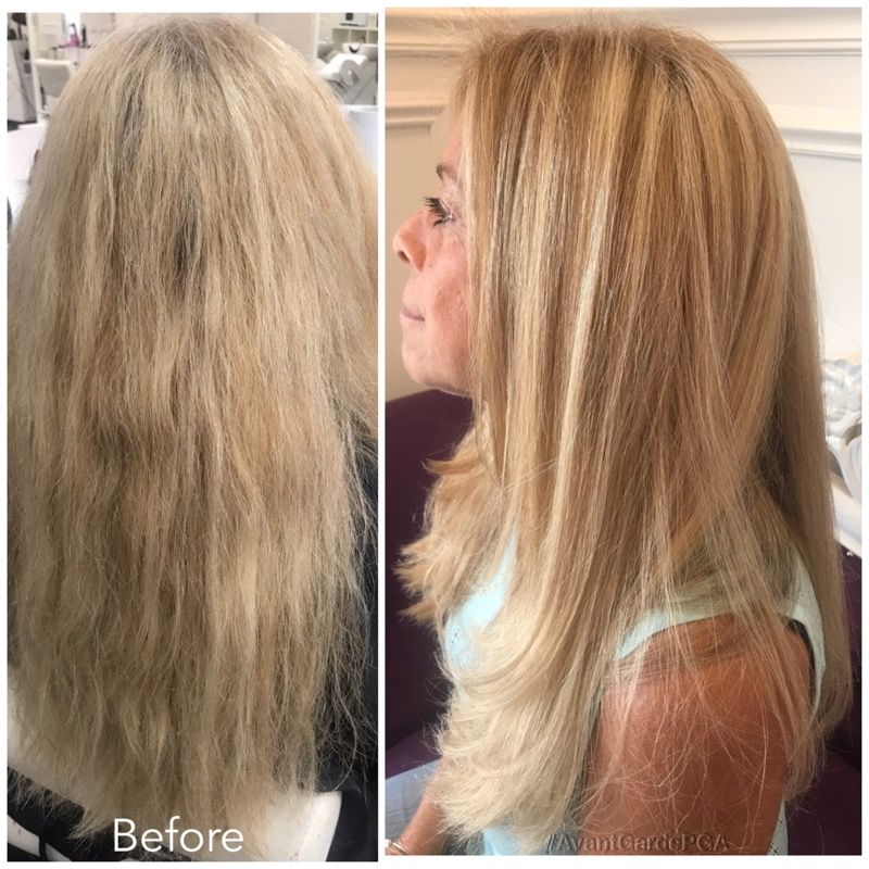 Before and After Hair Styles 011