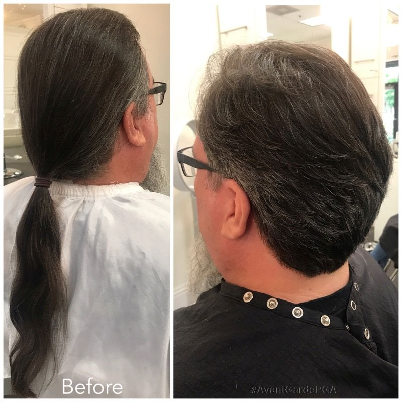 Before and After Hair Styles 012