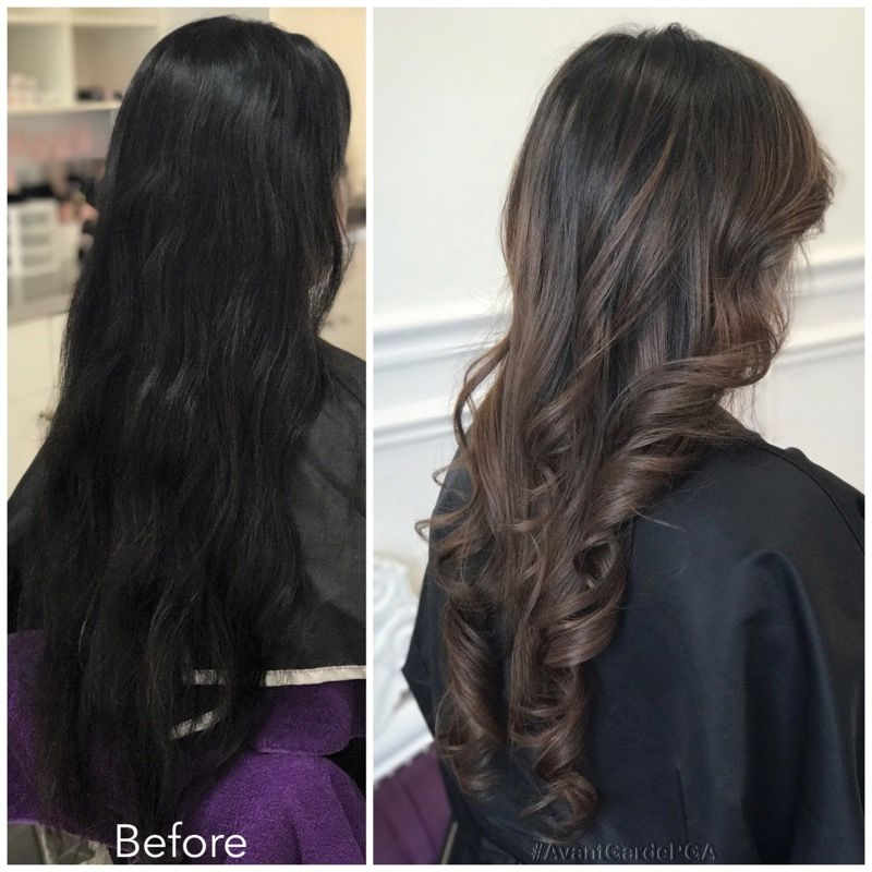 Before and After Hair Styles 013