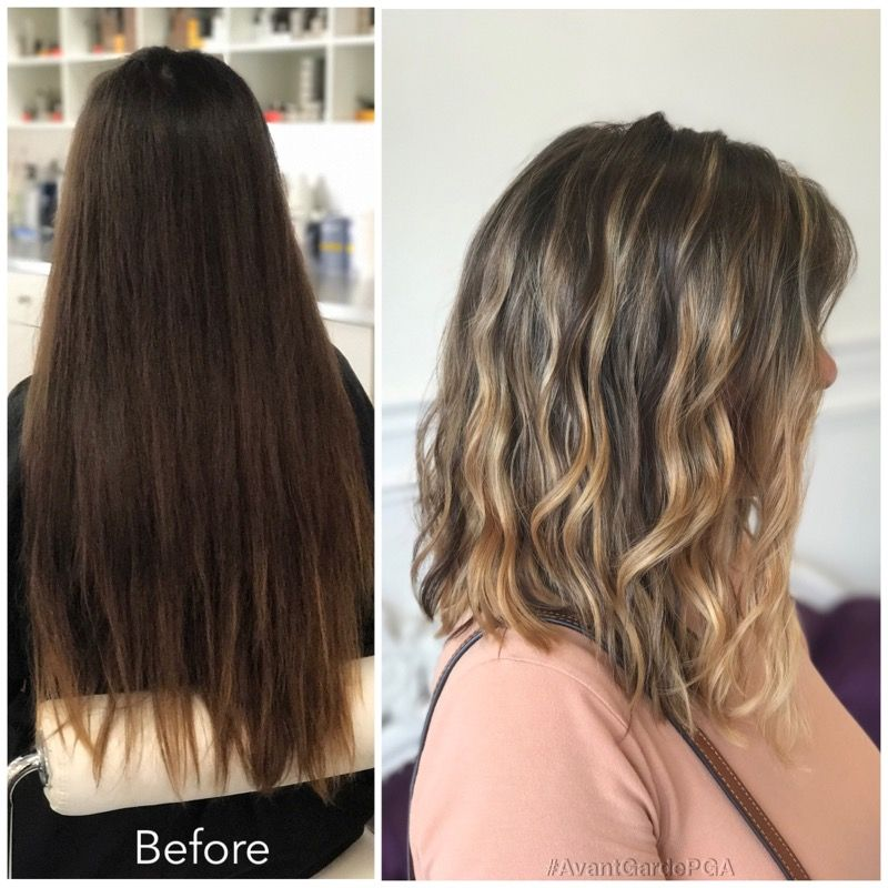 Before and After Hair Styles 015