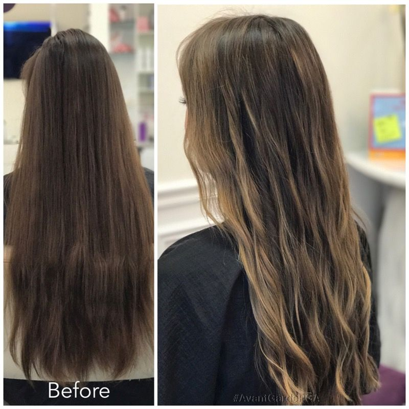 Before and After Hair Styles 017