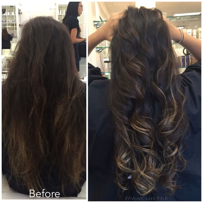 Before and After Hair Styles 019