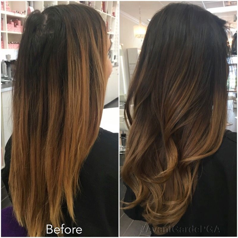 Before and After Hair Styles 020