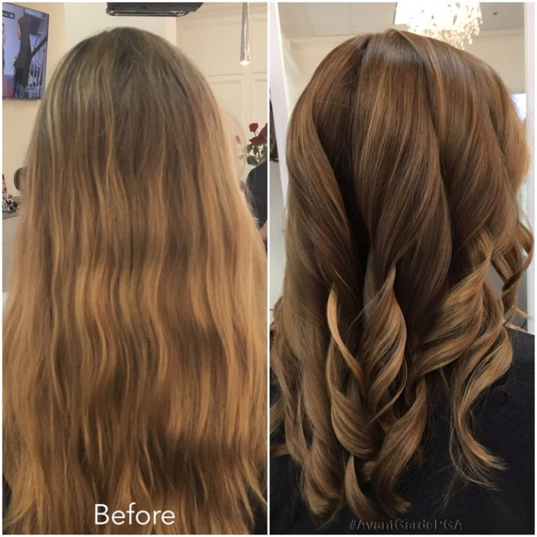 Before and After Hair Styles 022