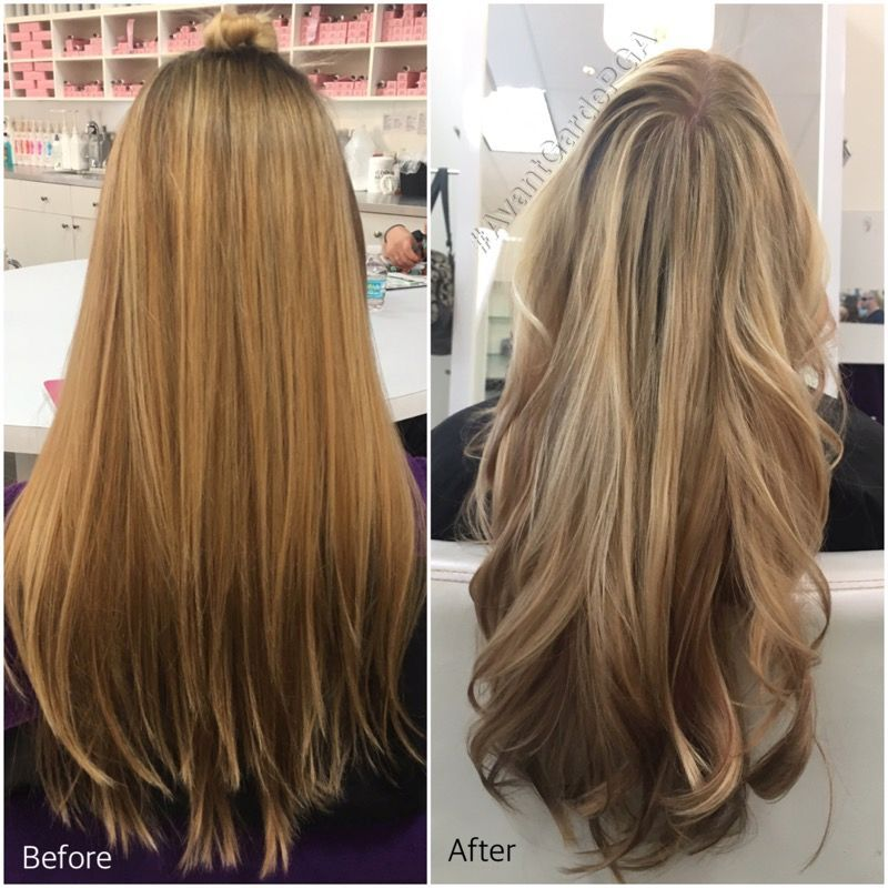 Before and After Hair Styles 031