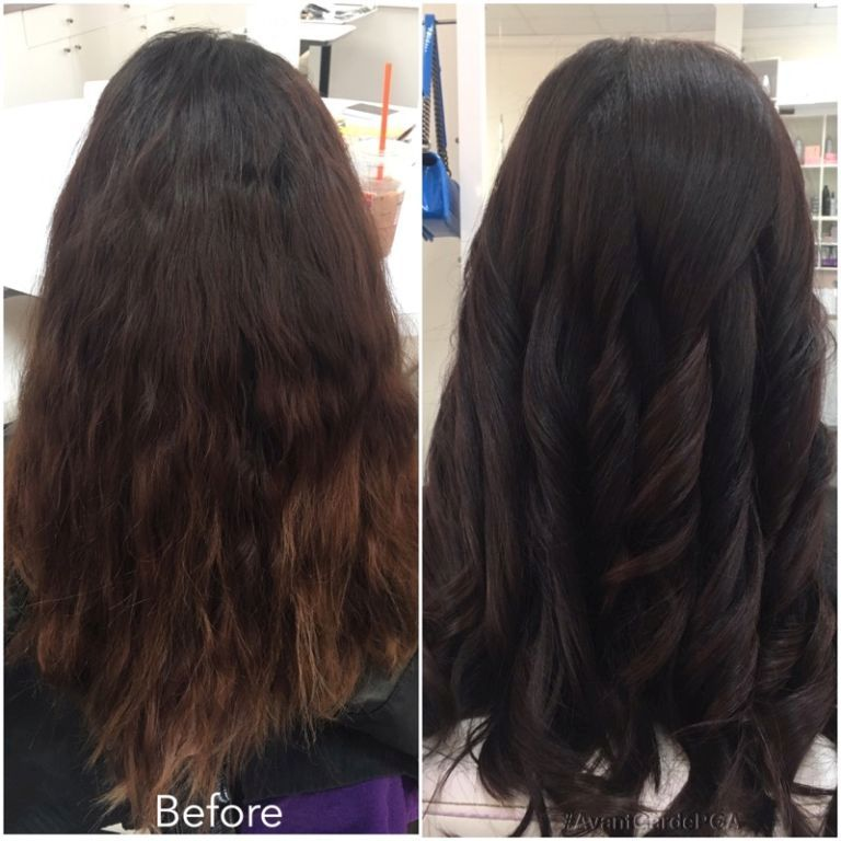 Before and After Hair Styles 033