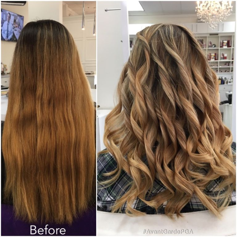 Before and After Hair Styles 036