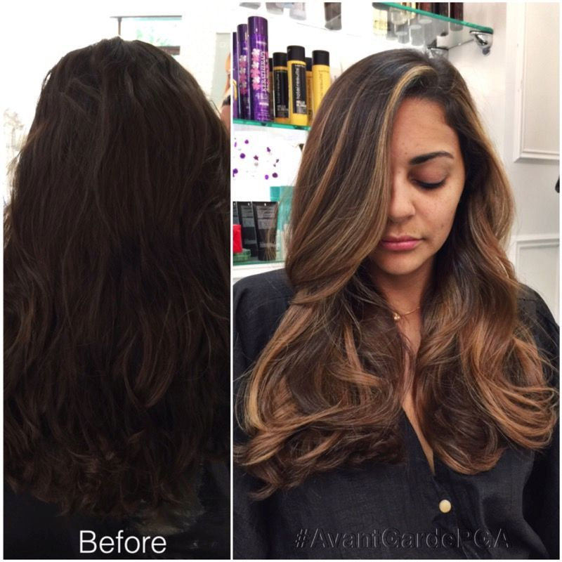 Before and After Hair Styles 037
