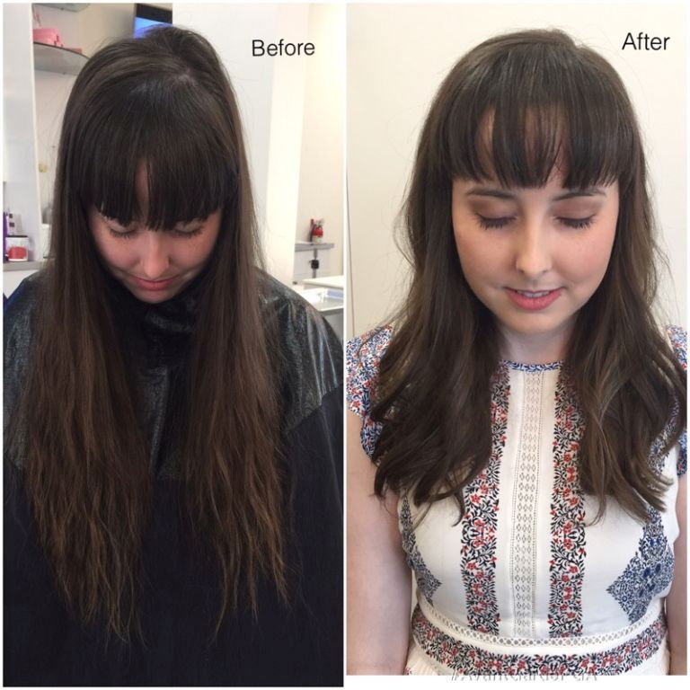 Before and After Hair Styles 038
