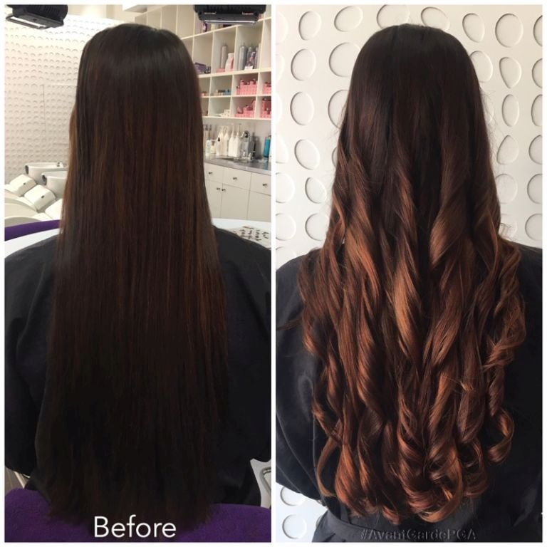 Before and After Hair Styles 040