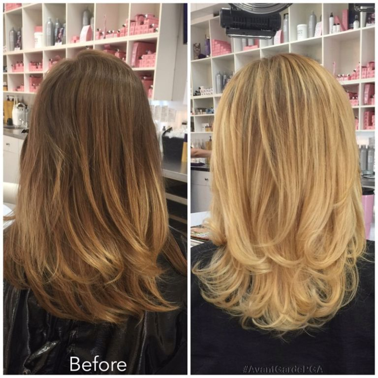 Before and After Hair Styles 042