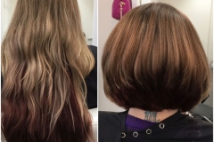 Before and After Hair Styles 032