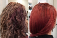 Before and After Hair Styles 035