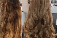 Before and After Hair Styles 041