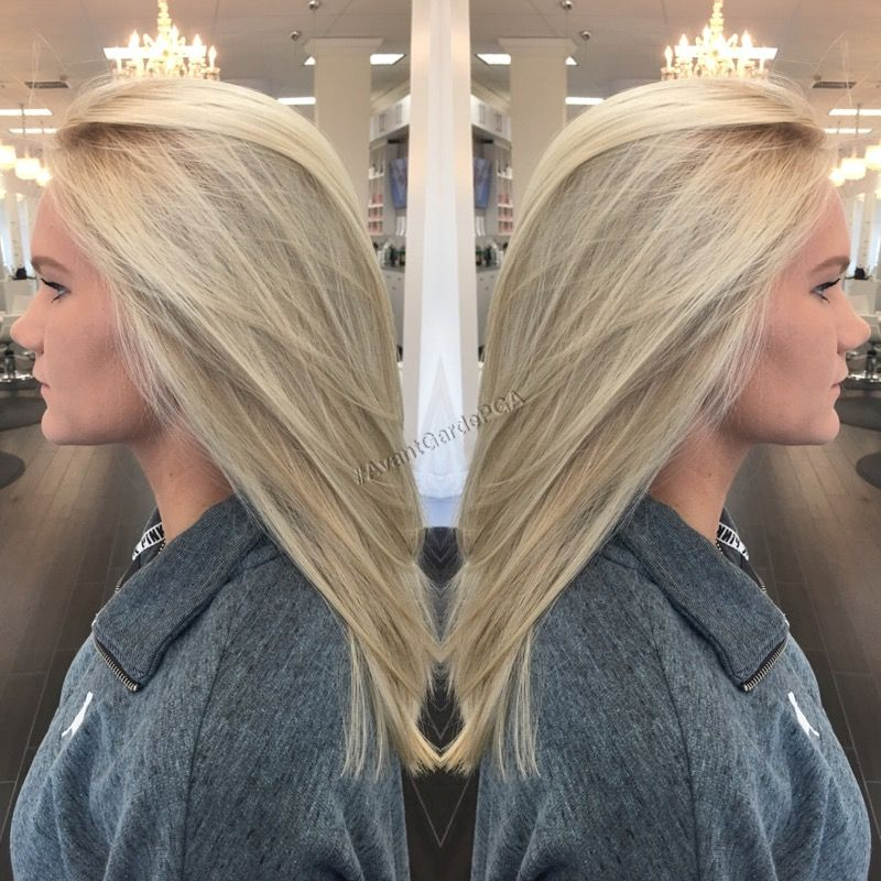 Double Process Blonde Palm Beach Gardens Hair Amp Beauty Salon